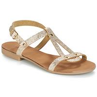 Topánky Ženy Sandále André TOUFOU Zlatá