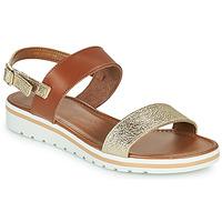 Topánky Ženy Sandále André ZANDORA Zlatá
