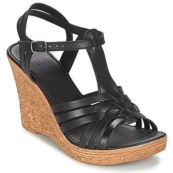 Topánky Ženy Sandále André FABULEUSE Čierna