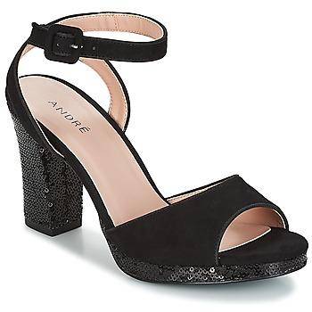 Topánky Ženy Sandále André FESTIVE Čierna