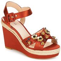 Topánky Ženy Sandále André IXIA Okrová-svetlá hnedá