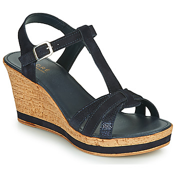 Topánky Ženy Sandále André ALOE Námornícka modrá