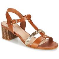 Topánky Ženy Sandále André ANTIGUA Ťavia hnedá