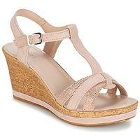 Topánky Ženy Sandále André ALOE Svetlá telová