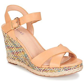 Topánky Ženy Sandále André ANTARES Svetlá telová