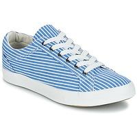 Topánky Ženy Nízke tenisky André SESAME Pásikový vzor / Modrá