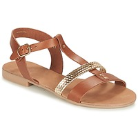 Topánky Ženy Sandále André CAYO COCOS Ťavia hnedá