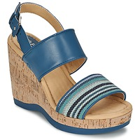 Topánky Ženy Sandále Hush puppies GRACE LUCCA Modrá