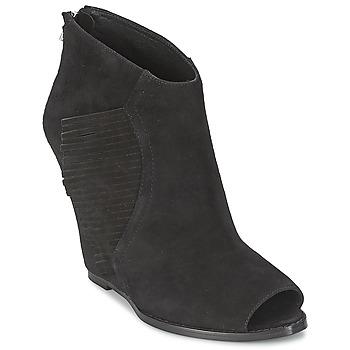 Topánky Ženy Čižmičky Ash LYNX Čierna