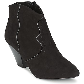 Topánky Ženy Čižmičky Ash GANG čierna