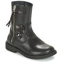 Topánky Dievčatá Polokozačky Citrouille et Compagnie JARINDA Čierna