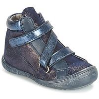 Topánky Dievčatá Polokozačky Citrouille et Compagnie JISSOU Modrá
