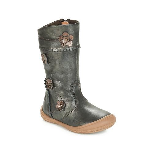 Topánky Dievčatá Čižmy do mesta Citrouille et Compagnie JAMATIS Bronzová