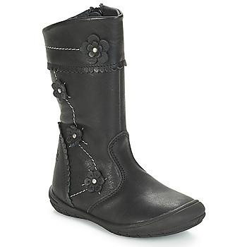 Topánky Dievčatá Čižmy do mesta Citrouille et Compagnie JAMATIS Čierna