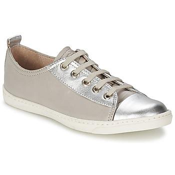 Topánky Dievčatá Nízke tenisky Shwik SLIM LO CUT Strieborná
