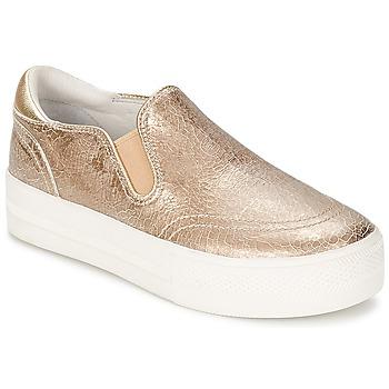 Topánky Ženy Slip-on Ash JUNGLE Zlatá
