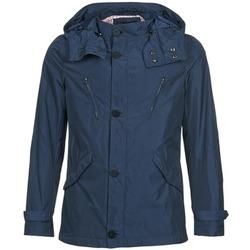 Oblečenie Muži Parky Sisley ROAMA Námornícka modrá