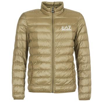Oblečenie Muži Vyteplené bundy Emporio Armani EA7 TRAIN CORE ID M DOWN LIGHT Hnedá