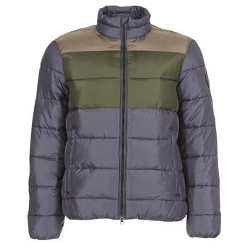 Oblečenie Muži Vyteplené bundy Emporio Armani EA7 MOUNTAIN M MEDIUM TRITONAL JACKET Čierna / Kaki