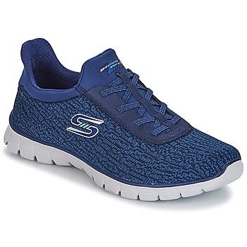 Topánky Ženy Fitness Skechers EZ FLEX 3.0 Námornícka modrá