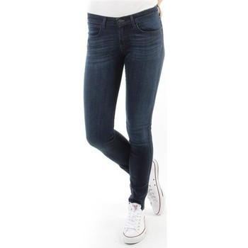 Oblečenie Ženy Rifle Skinny  Wrangler Spodnie Damskie CORYNN BLUE SHELTER W25FU466N blue