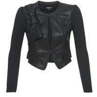 Oblečenie Ženy Kožené bundy a syntetické bundy Morgan VUIR čierna
