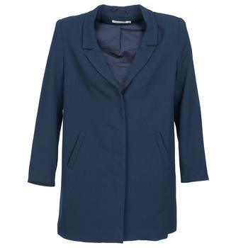 Oblečenie Ženy Kabáty See U Soon CARINA Námornícka modrá