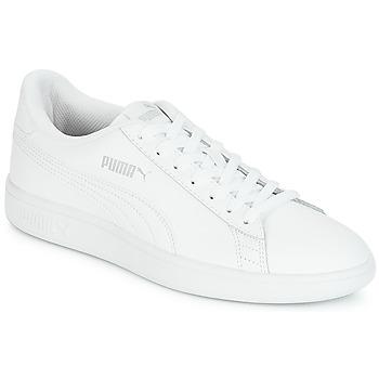 Topánky Muži Nízke tenisky Puma SMASH Biela