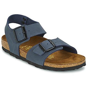 Topánky Deti Sandále Birkenstock NEW YORK Námornícka modrá