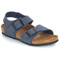 Topánky Chlapci Sandále Birkenstock NEW YORK Modrá