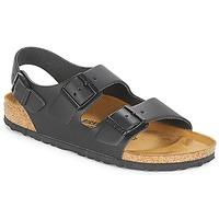 Topánky Muži Sandále Birkenstock MILANO Čierna