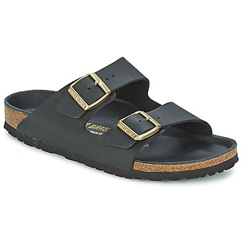 Topánky Ženy Šľapky Birkenstock ARIZONA čierna / Zlatá