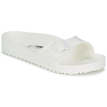 Topánky Muži Šľapky Birkenstock MADRID EVA Biela