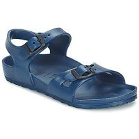 Topánky Dievčatá Sandále Birkenstock RIO EVA Námornícka modrá