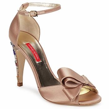 Topánky Ženy Sandále Charles Jourdan MANRAY Piesková