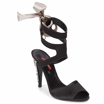 Topánky Ženy Sandále Charles Jourdan MADNESS Čierna / Piesková