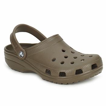 Topánky Nazuvky Crocs CLASSIC CAYMAN Čokoládová