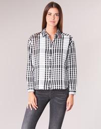 Oblečenie Ženy Košele a blúzky Scotch & Soda FRINDA Čierna / Biela