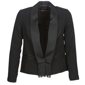 Oblečenie Ženy Saká a blejzre Maison Scotch BOUKOUM Čierna