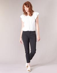 Oblečenie Ženy Nohavice Cargo Scotch & Soda ZERATRE Čierna / Biela