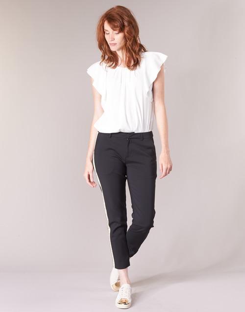 Oblečenie Ženy Nohavice Cargo Maison Scotch ZERATRE Čierna / Biela