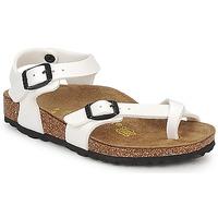 Topánky Dievčatá Sandále Birkenstock TAORMINA Biela / Patent