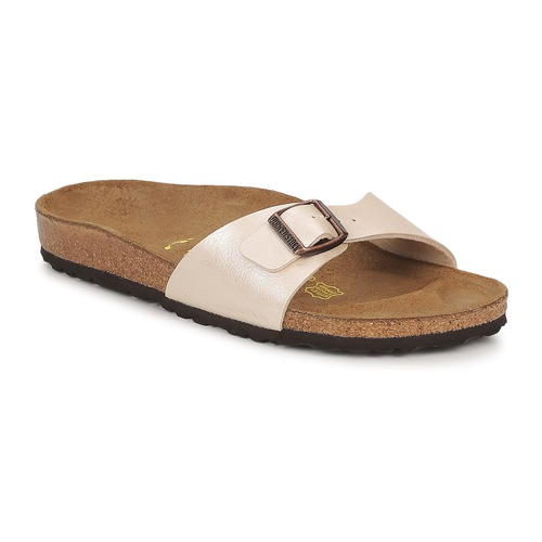 Topánky Ženy Šľapky Birkenstock MADRID Krémová