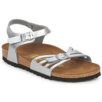 Topánky Ženy Sandále Birkenstock BALI Strieborná