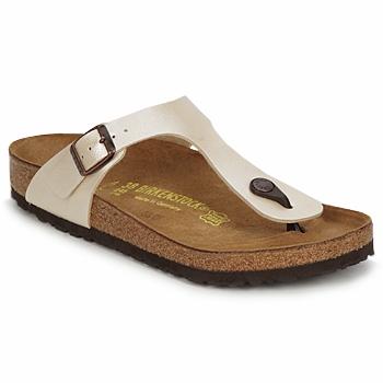 Topánky Ženy Žabky Birkenstock GIZEH Krémová