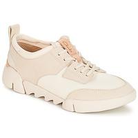 Topánky Ženy Nízke tenisky Clarks Tri Spirit Biela / Combi