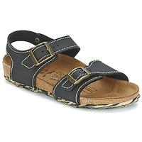 Topánky Dievčatá Sandále Birki's NEW YORK Neoprene / Čierna