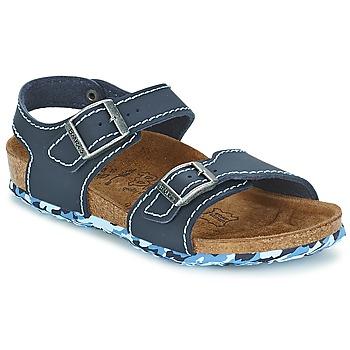 Topánky Dievčatá Sandále Birki's NEW YORK Neoprene / Modrá