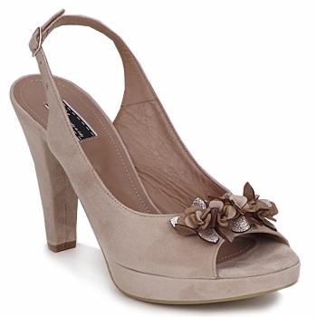 Topánky Ženy Sandále Vic CALIPSO DRAL Béžová