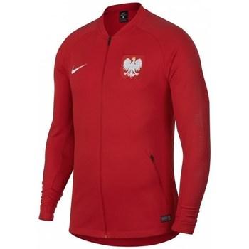 Oblečenie Muži Mikiny Nike Poland Anthem WC 2018 Červená